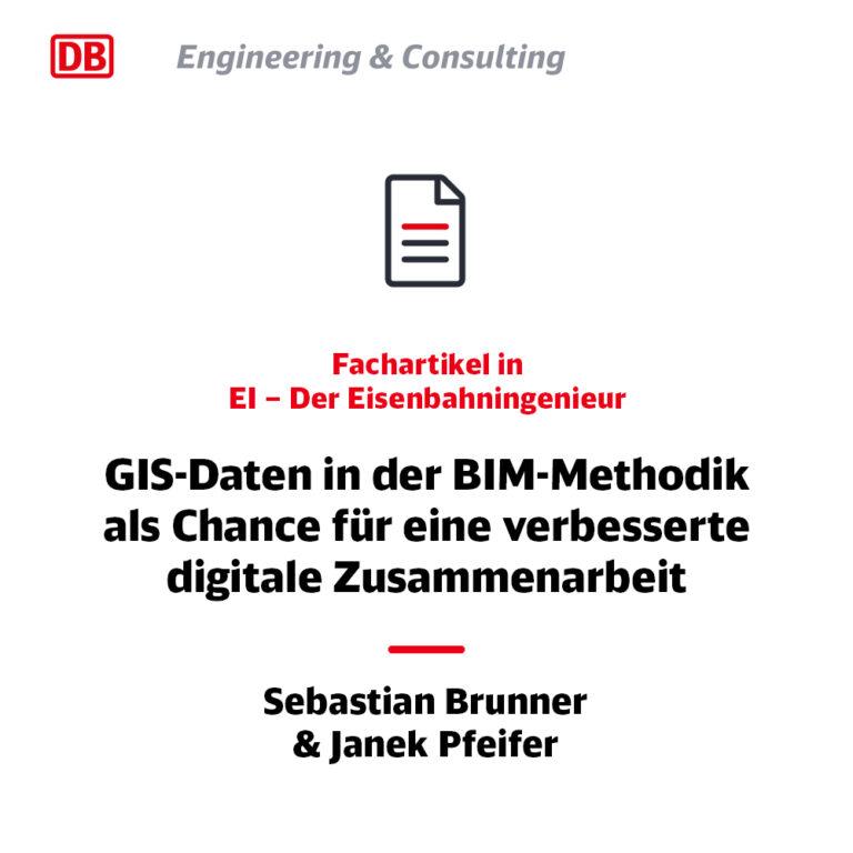 GIS-Daten in der BIM-Methodik -EI Fachbeitrag Juli 2020