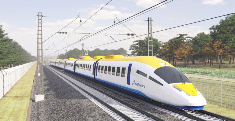 Rail Baltica train concept