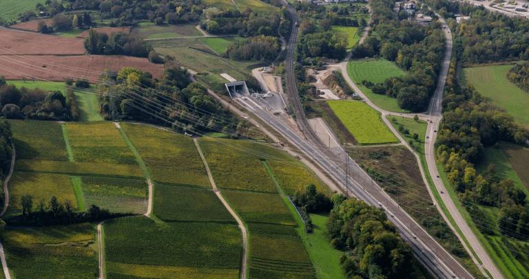 Rhein-Alpen Korridor: Katzenbergtunnel Karlsruhe Basel